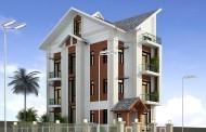Thiết kế biệt thự hiện đại 3,5 tầng 240m2 - Chị Vân, KĐT Trung Văn