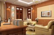 Thiết kế nội thất văn phòng - Trường Y Khoa, Vinh