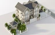Thiết kế biệt thự phong cách hiện đại, 3 tầng, 250m2 - Đông Anh, Hà Nội