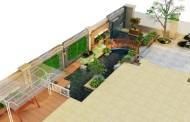 Thiết kế cảnh quan sân vườn biệt thự - Anh Cử, Hà Đông