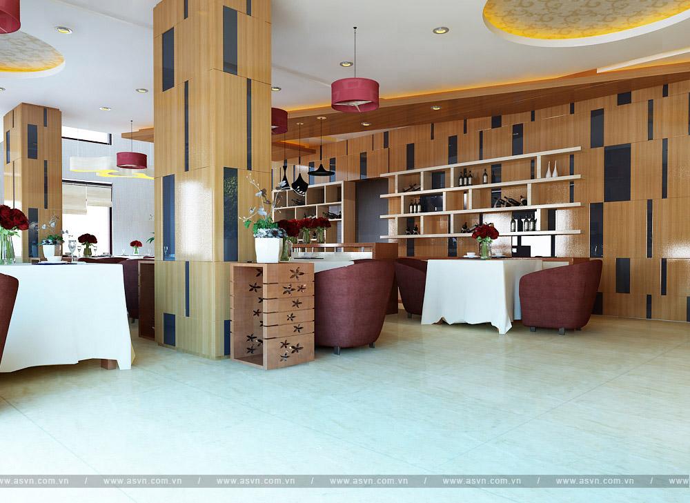 Thi công quán cafe, nhà hàng